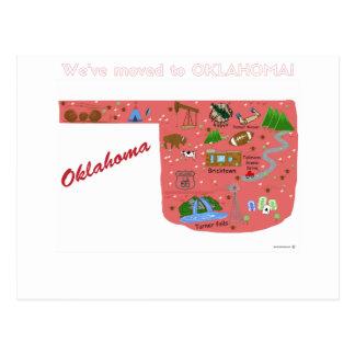 We've Moved to Oklahoma Postcard