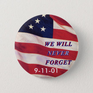 WEWILL NEVER FORGET PC1008 PDF PRINT130004 2 INCH ROUND BUTTON