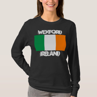 Wexford, Ireland with Irish flag T-Shirt