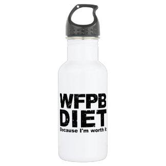 WFPB I'm Worth It (blk) 532 Ml Water Bottle