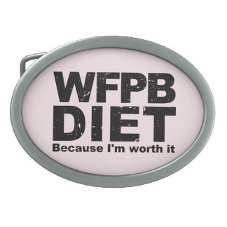 WFPB I'm Worth It (blk) Belt Buckle