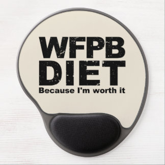 WFPB I'm Worth It (blk) Gel Mouse Pad