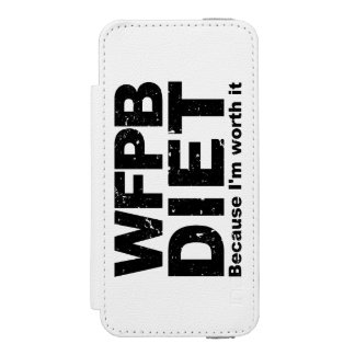 WFPB I'm Worth It (blk) Incipio Watson™ iPhone 5 Wallet Case