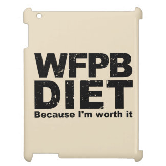 WFPB I'm Worth It (blk) iPad Cover
