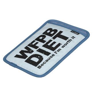 WFPB I'm Worth It (blk) iPad Mini Sleeve