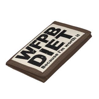 WFPB I'm Worth It (blk) Trifold Wallet