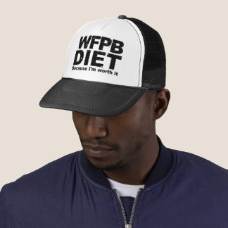 WFPB I'm Worth It (blk) Trucker Hat