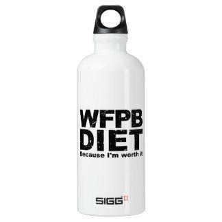 WFPB I'm Worth It (blk) Water Bottle