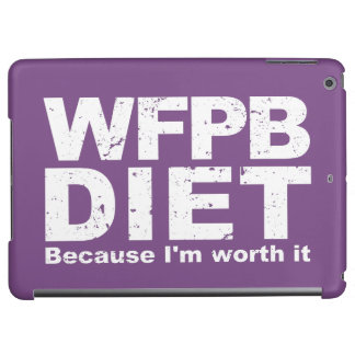 WFPB I'm Worth It (wht) Cover For iPad Air