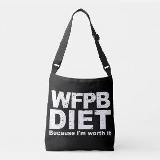 WFPB I'm Worth It (wht) Crossbody Bag