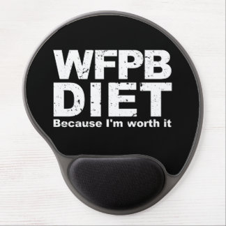WFPB I'm Worth It (wht) Gel Mouse Pad
