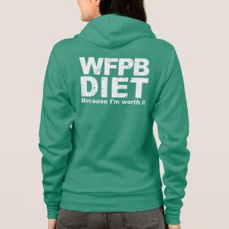 WFPB I'm Worth It (wht) Hoodie