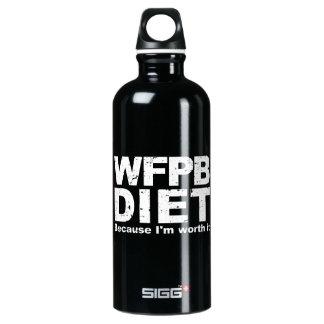 WFPB I'm Worth It (wht) Water Bottle