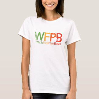 WFPB logo - t shirt white