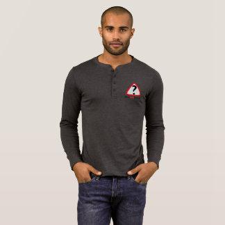 WFS Logo - Men's Bella+Canvas Henley Long Sleeve T T-Shirt