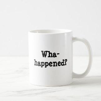 Wha-happened? Basic White Mug