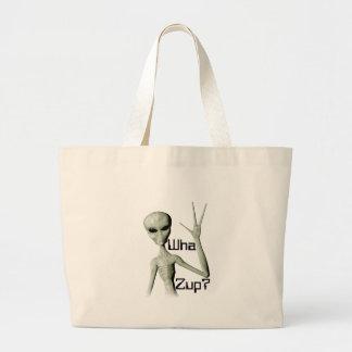 Wha Zup? Jumbo Tote Bag