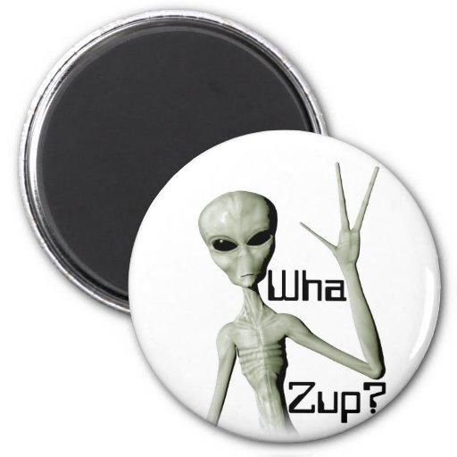 Wha Zup? Refrigerator Magnet