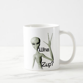 Wha Zup? Basic White Mug
