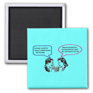 Whack A Snitch Twisted Humor Fridge Magnet