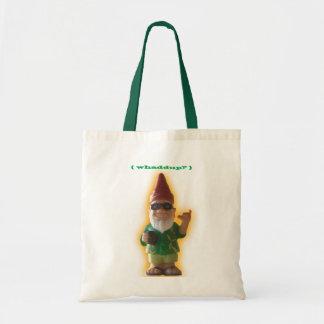 Whaddup? Gnome tote bag