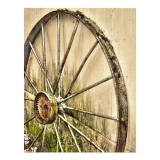 Whagon Wheel Letterhead
