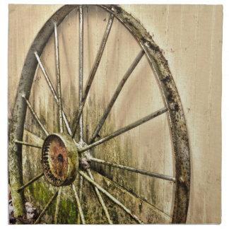 Whagon Wheel Napkin