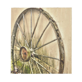 Whagon Wheel Notepad
