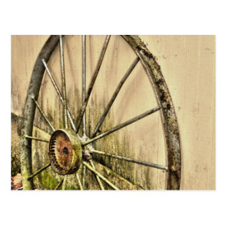Whagon Wheel Postcard