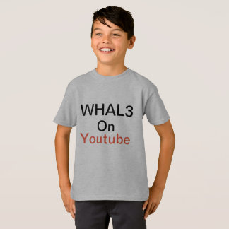 Whal3 boys shirt Fluffy