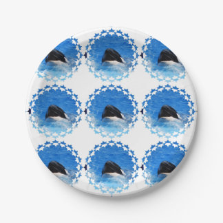 whale-51 paper plate