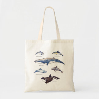 Whale and dolphin species bag
