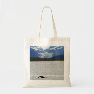 Whale and Eagle Glacier Tote Bag