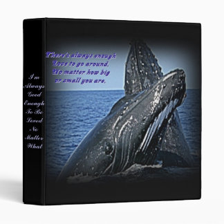 Whale and Love Quotes Binder