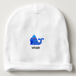 Whale Baby Beanie