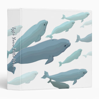 Whale Binder Custom Beluga Whale Binder / Album