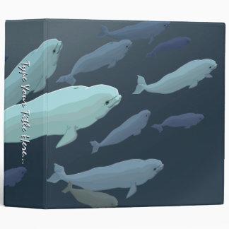 Whale Binder Custom Beluga Whale Binder / Album