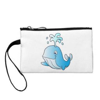 whale cartoon coin purse