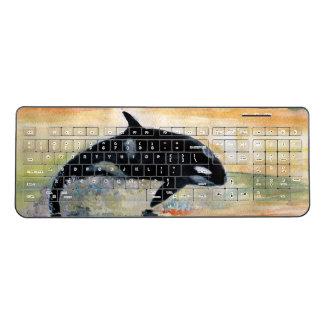 Whale Custom Wireless Keyboard Orca