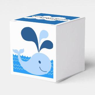 Whale Favor Wedding Favor Boxes