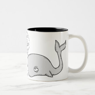 Whale H ice ice awkward… Two-Tone Coffee Mug