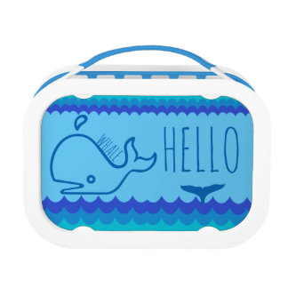 Whale Hello Lunch Boxes