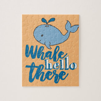 Whale Hello There Jigsaw Puzzle