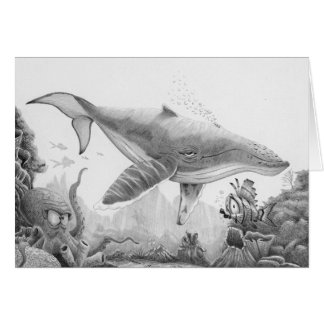 Whale Journey Generic Card