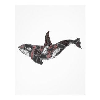 Whale Letterhead