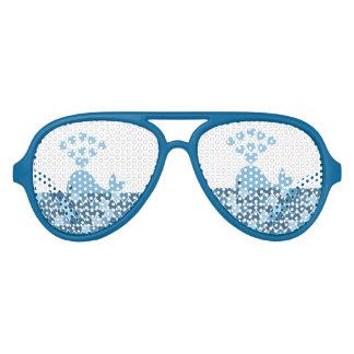 Whale love aviator sunglasses