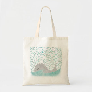 Whale Love Budget Tote Bag