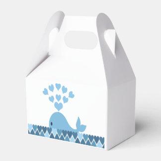 Whale Love Favor Box