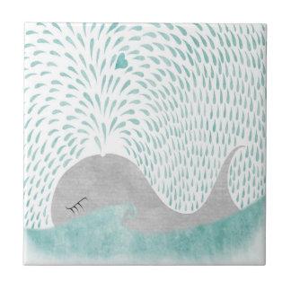"""Whale Love""Tile Tiles"