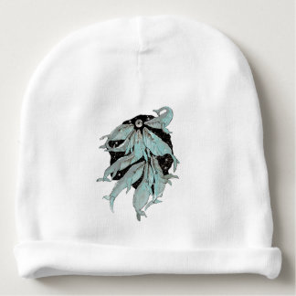 Whale Navigation Baby Beanie